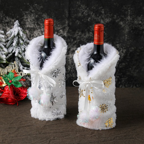 Champagne Wine Bag Christmas Decoration Wholesale Nihaojewelry  NHGAL419366's discount tags