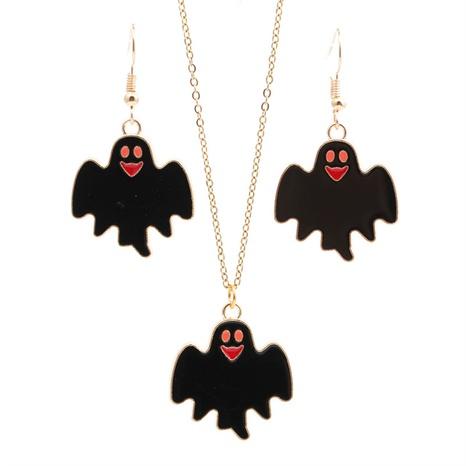 Halloween-Legierung tropfendes Öl Fledermäuse Ohrringe Großhandel Schmuck Nihaojewelry NHYL419483's discount tags