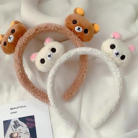 Diadema de cordero de lana de oso coreano al por mayor Nihaojewelry NHAQ419650's discount tags