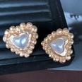 NHOM1983802-Heart-shaped-silver-needle-stud-earrin