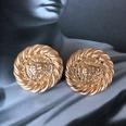 NHOM1983806-Lion-Head-Silver-Needle-Stud-Earrings-