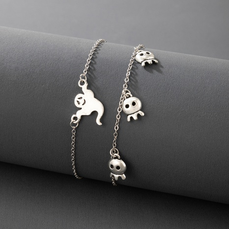 Halloween Totenkopf Fußkettchen Großhandel Nihaojewelry NHGY420494's discount tags