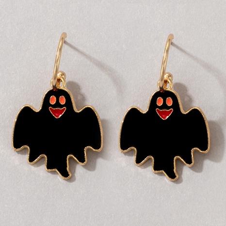 Halloween schwarze Fledermaus Ohrringe Großhandel Nihaojewelry NHGY420490's discount tags