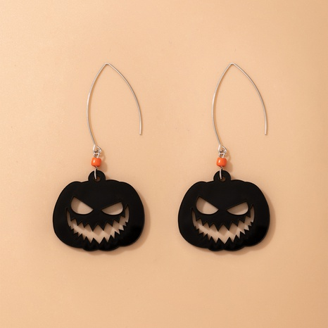 Halloween funny pendent earrings wholesale Nihaojewelry NHGY421488's discount tags