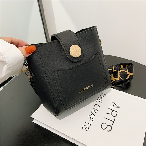 fashion messenger single-shoulder bucket bags wholesale Nihaojewelry NHRU420659's discount tags