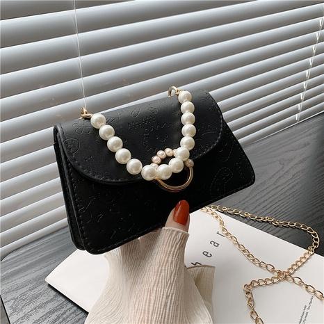 pearl handle chain korean style shoulder messenger bag wholesale Nihaojewelry NHRU420660's discount tags