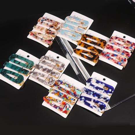 neue Kontrastfarbe Essigsäure Haarnadel Großhandel Nihaojewelry NHPA420697's discount tags