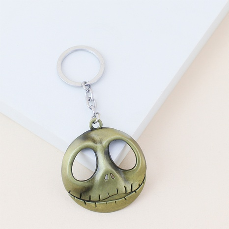 Halloween Skull Pendant Keychain Wholesale Nihaojewelry NHAP420923's discount tags