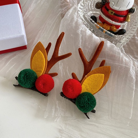 Christmas Ornaments Antlers Elk Ears Hairpin Wholesale Nihaojewelry  NHSM420057's discount tags