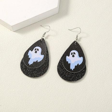 Halloween water drop ghost demon earring wholesale Nihaojewelry NHDB420900's discount tags