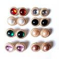 NHOM2012026-Pink-925-Silver-Needle-Stud-Earrings