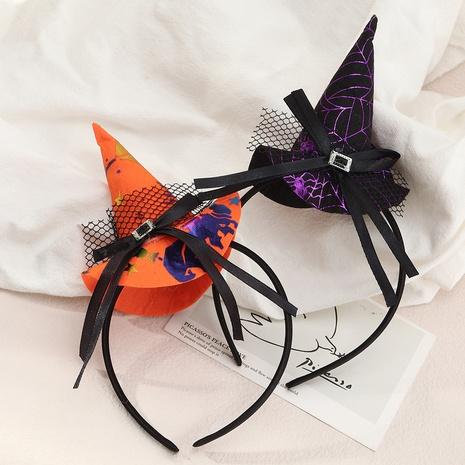 Halloween adult children witch hat headband wholesale Nihaojewelry NHAU421018's discount tags