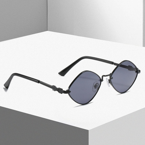 retro rhombus small frame glasses sunglasses wholesale Nihaojewelry NHLMO421538's discount tags